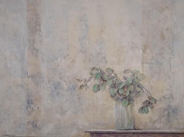 Cuadro figurativo del artista JEREMIAS . Pintura en acrílico en 130x97cm y 150x100cm. Pintura arte