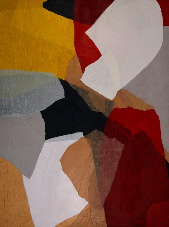 Obra abstracta de GUIRAO. Pintura en acrilico en 130x97 cm y 150x100 cm.Pintura arte
