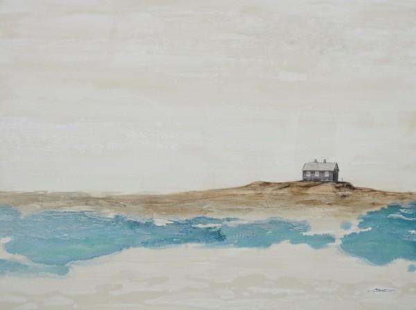 Obra abstracta de BAENA. Pintura en acrilico en 130x97cm y 150x100 cm.