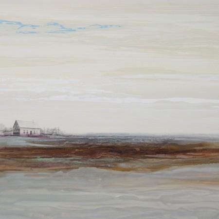 Obra abstracta de BAENA. Pintura en acrilico en 130x97 cm y 150x100 cm.