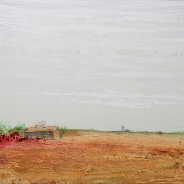 Obra abstracta de BAENA. Pintura en acrilico en 150x150cm