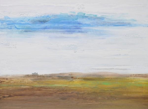 Obra abstracta de BAENA. Pintura en acrilico en 130x97cm y 150x100cm.