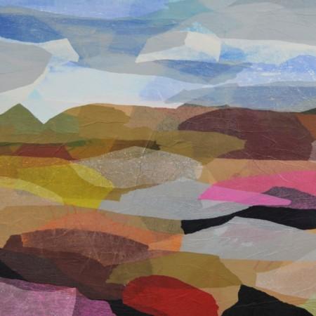Cuadro abstracto de GUIRAO. Pintura en acrilico en 130x97 cm y 150x100 cm. Pintura arte