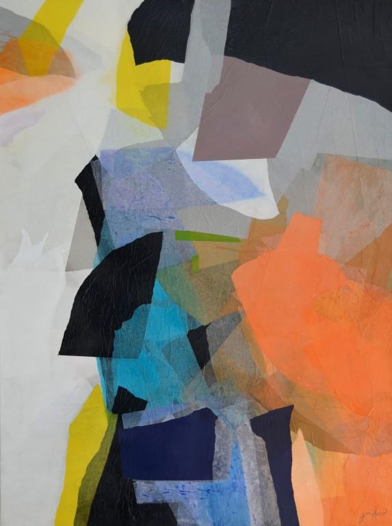 Cuadro abstracto de GUIRAO. Pintura en acrilico en 150x100 cm y 130x97 cm. Pintura arte
