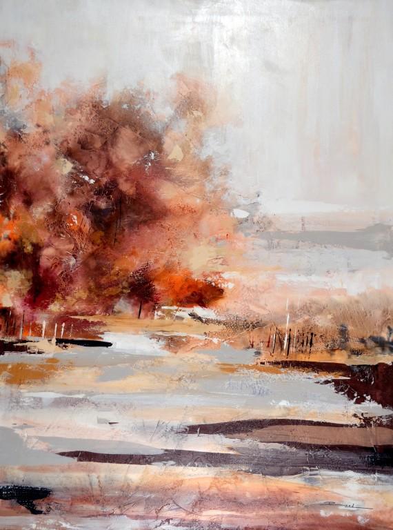 Cuadro figurativo del artista KONRAD. Pintura en acrílico en 130x97cm y 150x100cm. Pintura arte