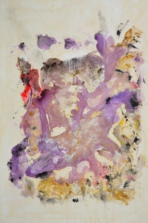 Cuadro abstracto del artista MARZAL. Pintura en acrílico en 150x100cm y 130x97cm. Pintura arte