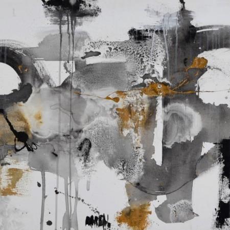 Cuadro abstracto del artista MARZAL. Pintura en acrílico en 130x97cm y 150x100cm. Pintura arte