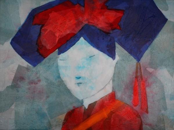 Obra figurativa de GUIRAO. Pintura en acrilico en 130x97 cm y 150x100 cm.Pintura arte