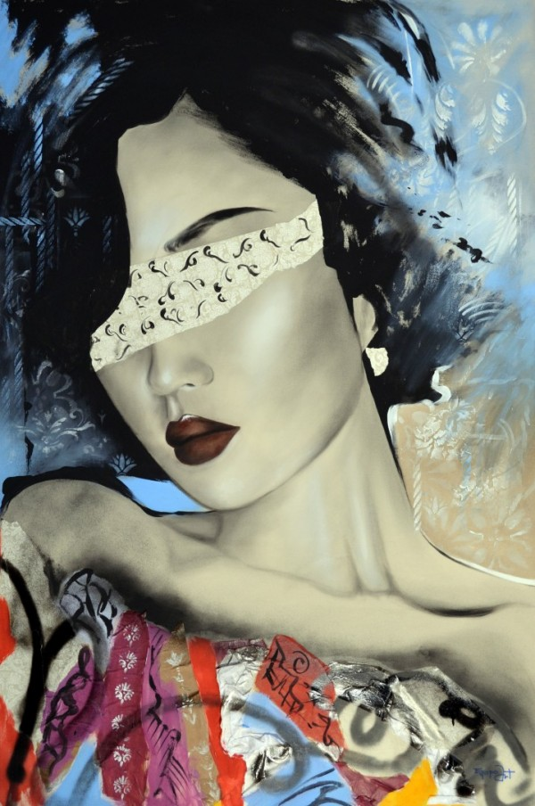 Cuadro figurativo de EQUIPO ART. Pintura en acrílico en 130X97cm y 150x100cm. Pintura arte