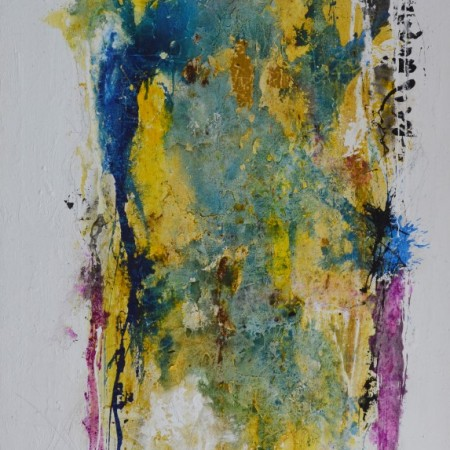 Cuadro abstracto del artista MARZAL. Pintura en acrílico en 97x130cm y 150x100cm. Pintura arte